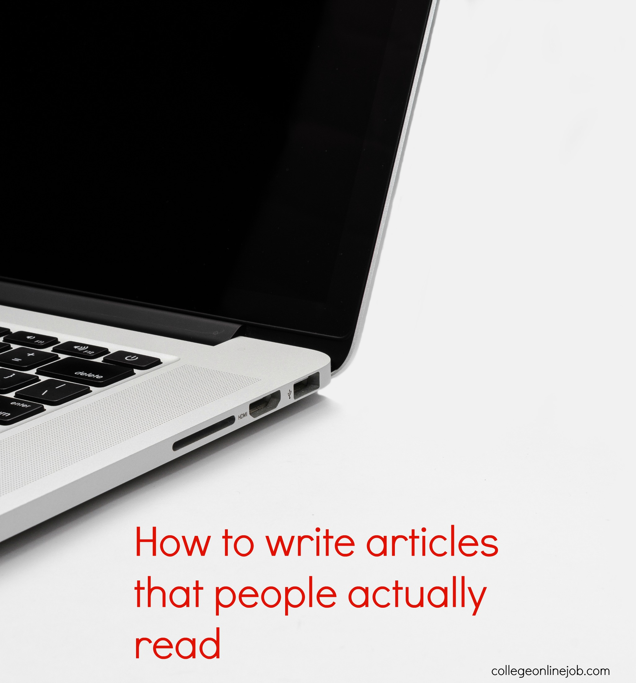 How to Write Articles That People Will Actually Read