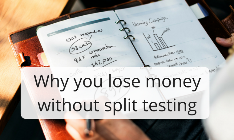 Why you lose money without split testing