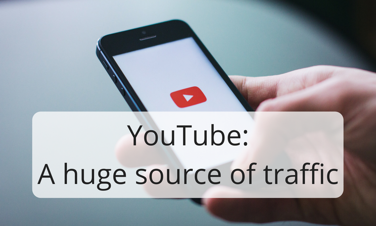 YouTube: A huge source of traffic