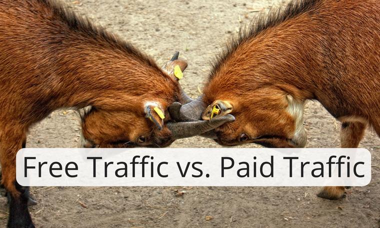 Free Traffic vs. Paid Traffic