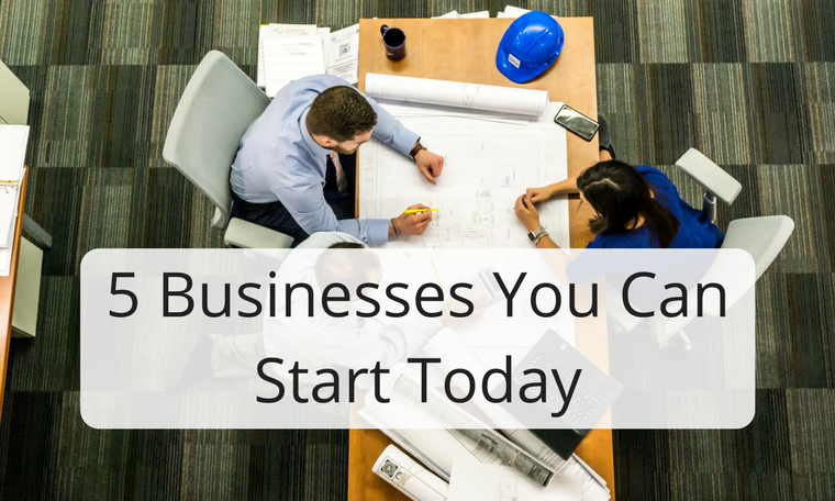 5 Online Businesses You Can Start Today