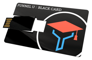 funnel u black card