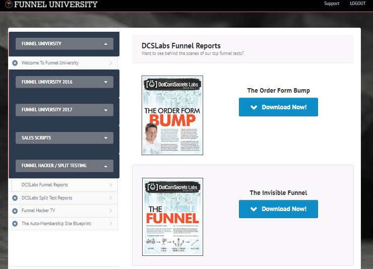funnel u shared funnels